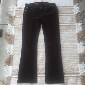 AG Adriano Goldschmied Corduroy Bootcut Jeans